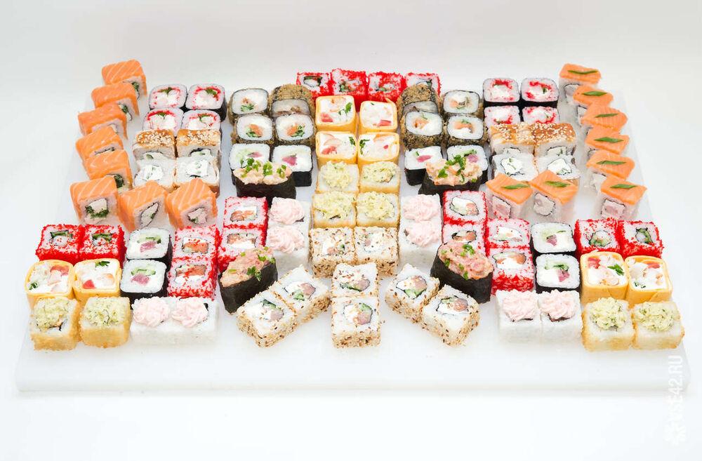 Фото суши набора
