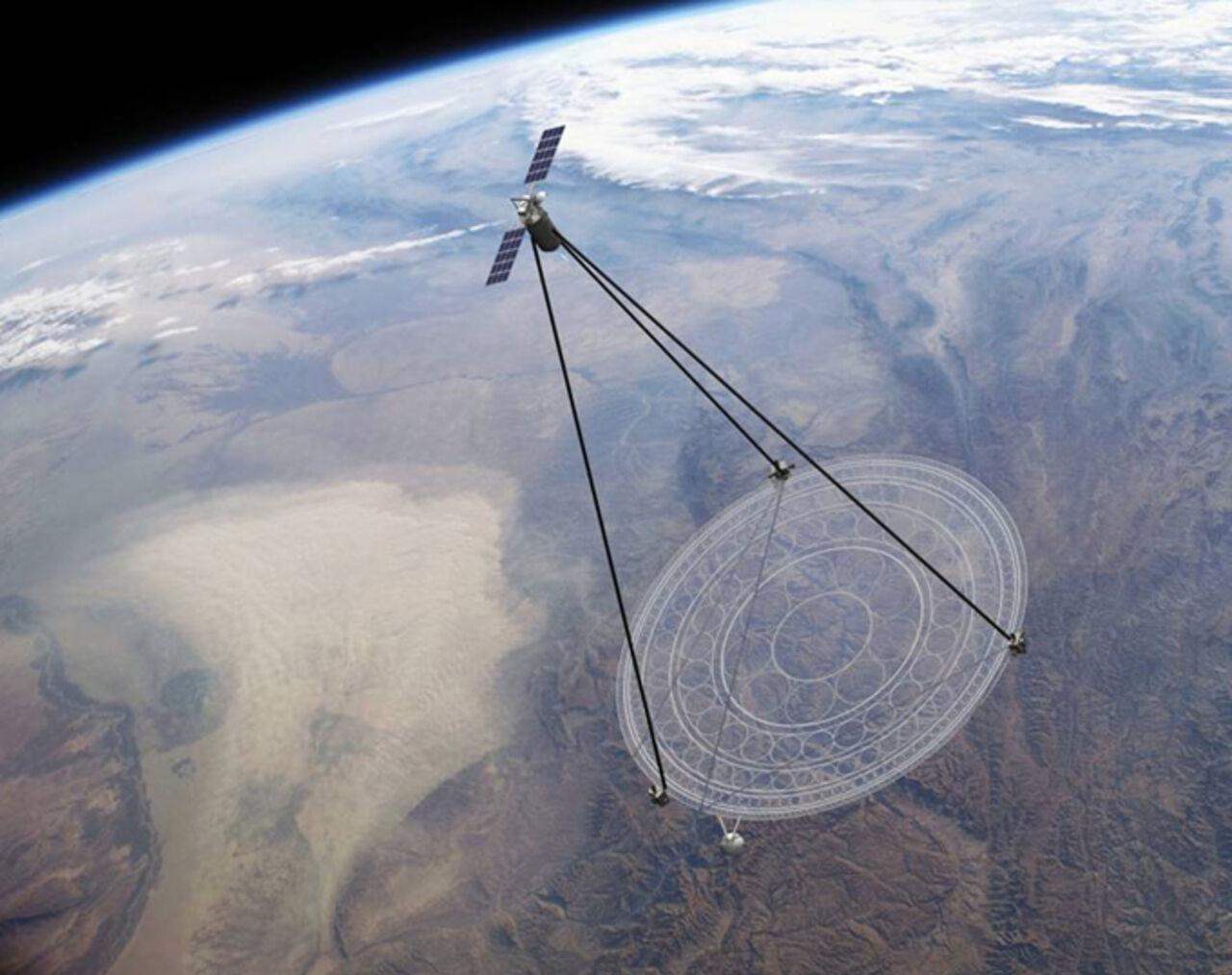 В РФ  появится новая система космической разведки