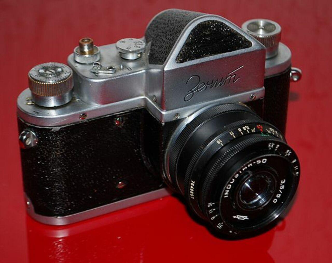 Легендарные фотоаппараты «Зенит» вскоре  появятся на русском  рынке