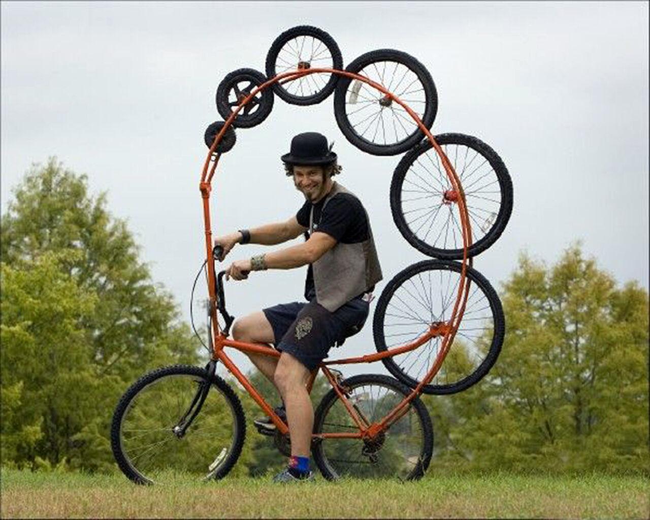 Смотреть онлайн самотык на велосипеде 25 фотография