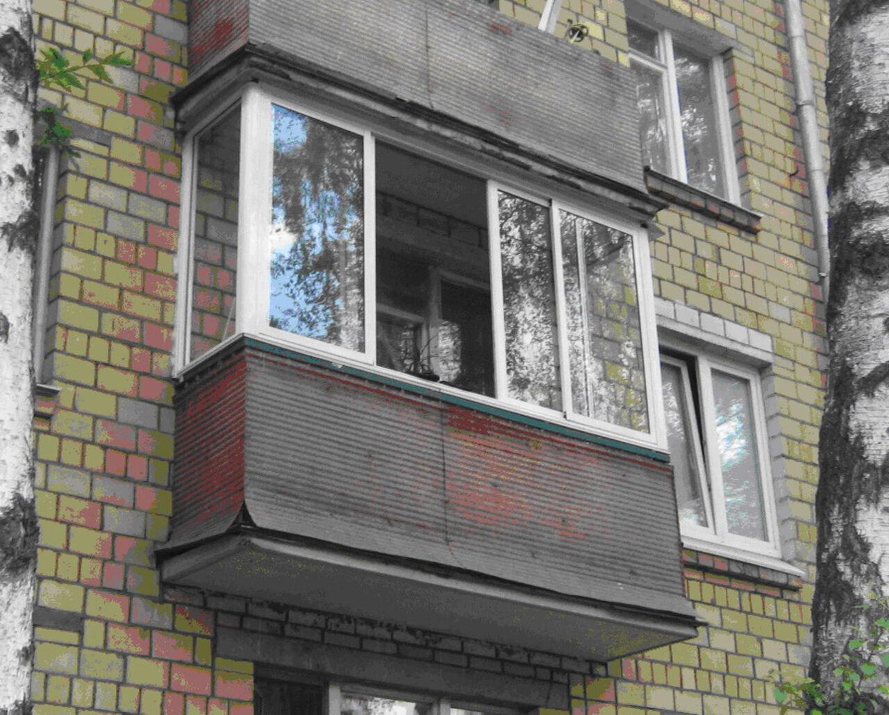 Остекление балконов хрущевок цена в москве..