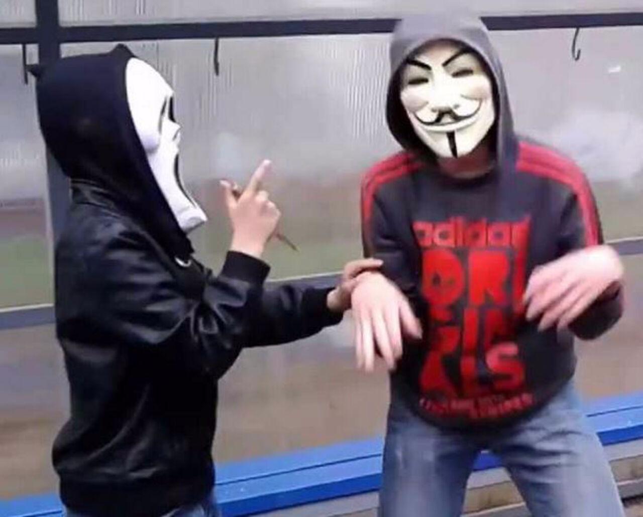 Фото на аву с масками гая фокса