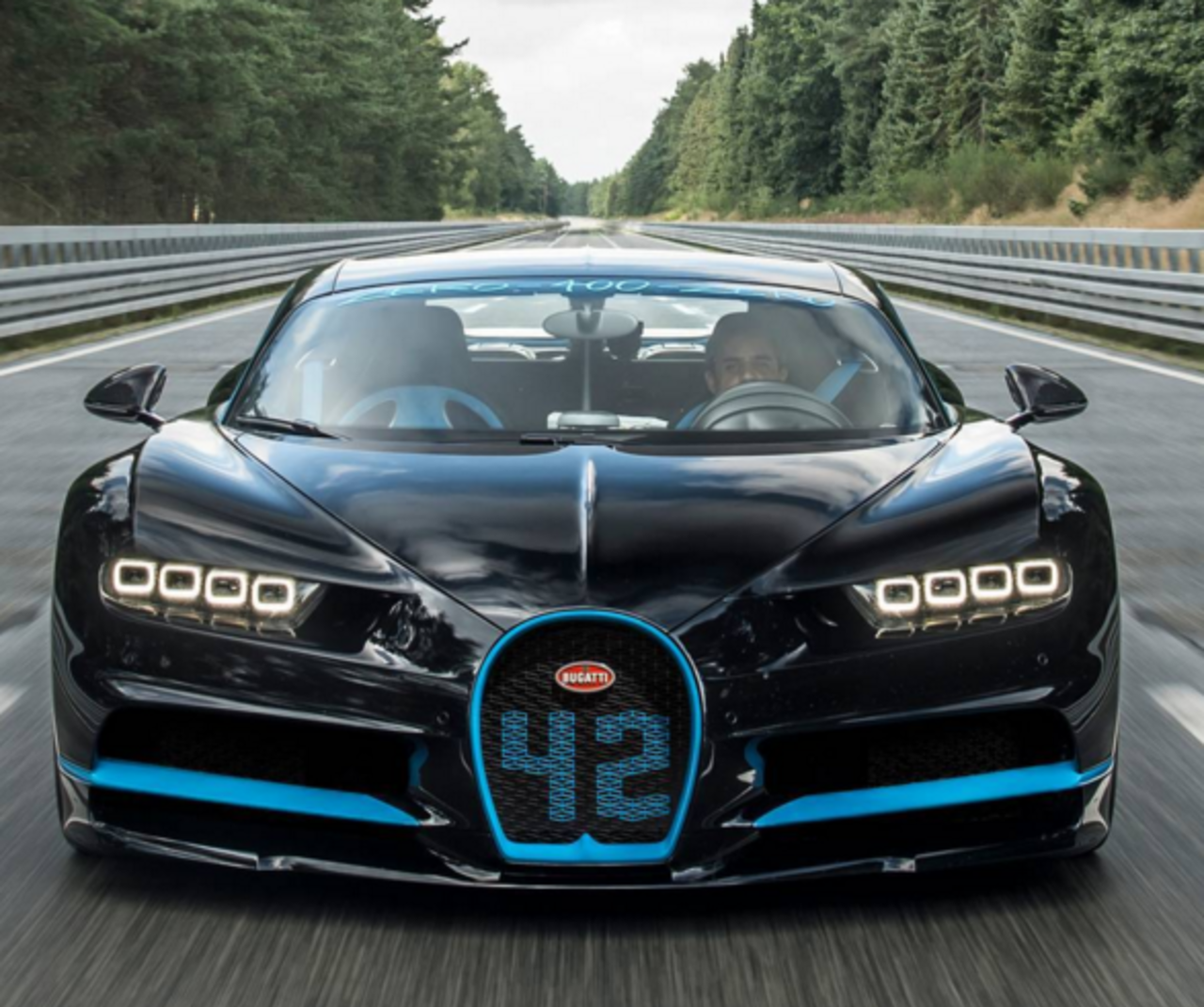 Колумбийский барон оседлал Bugatti Chiron