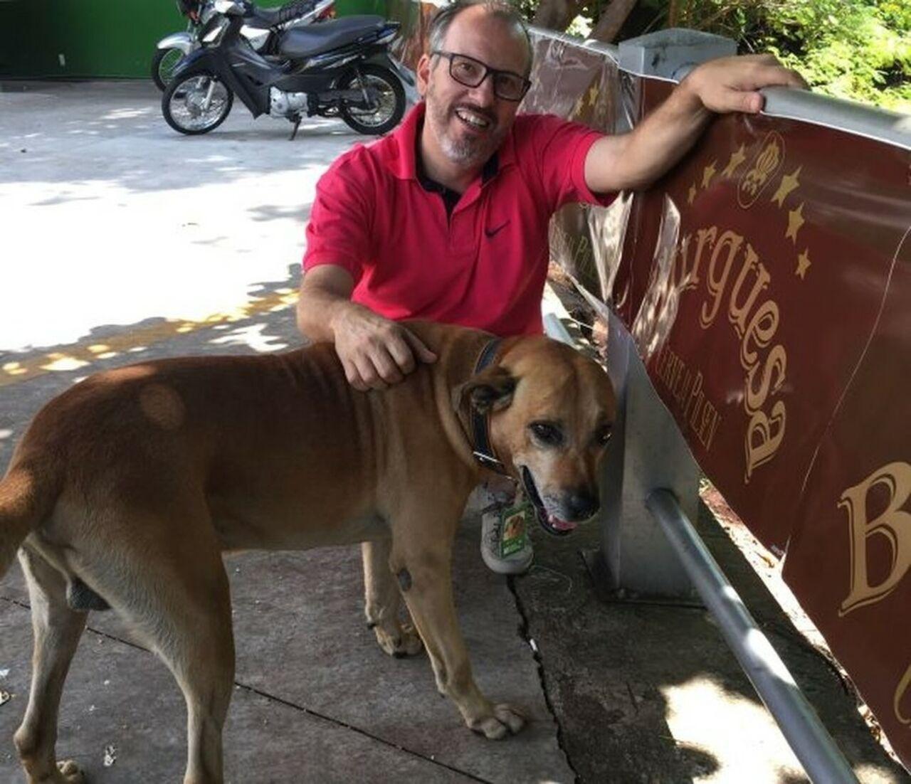ВБразилии собачка стала работником месяца назаправке
