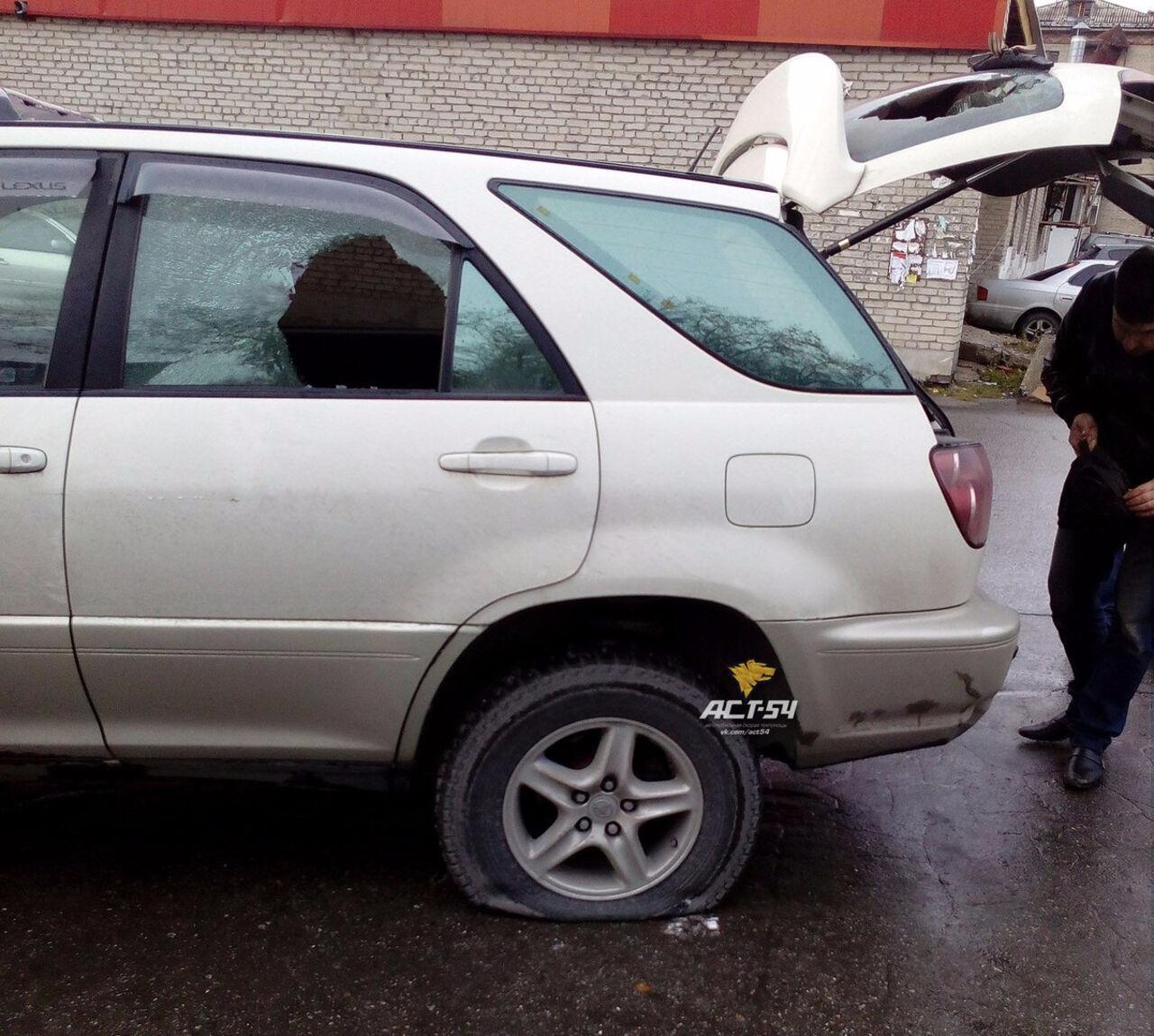 Новосибирские силовики обстреляли случайную машину впроцессе специализированной операции