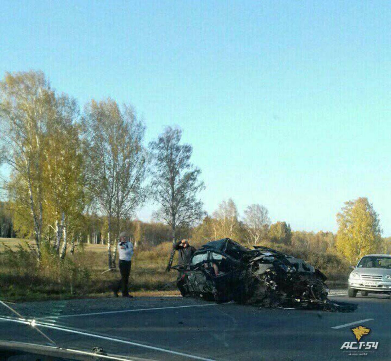 Семь человек изНовосибирска погибли вДТП вКузбассе