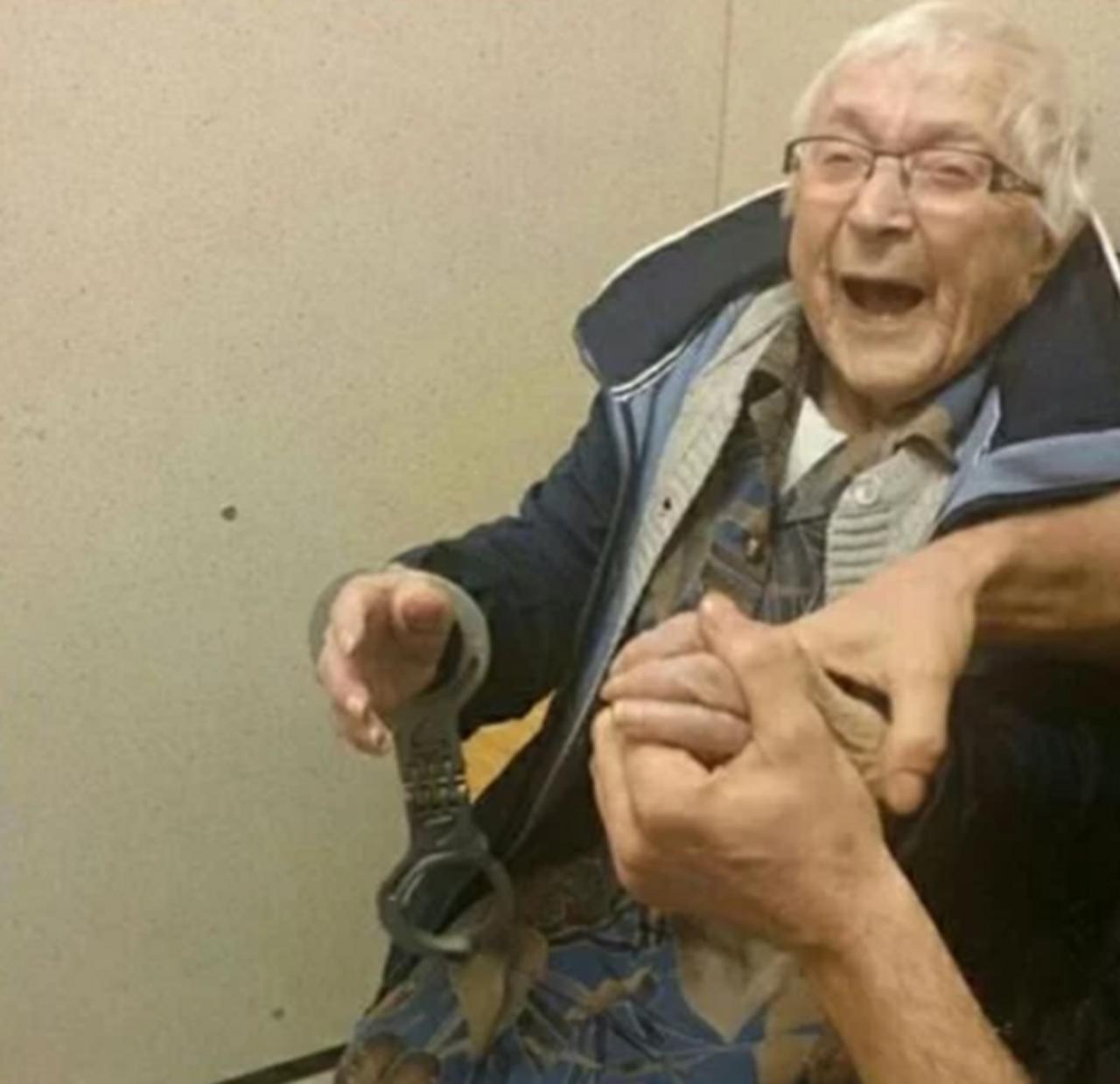 ВНидерландах арестовали 99-летнюю старушку, исполнив ее последнюю мечту