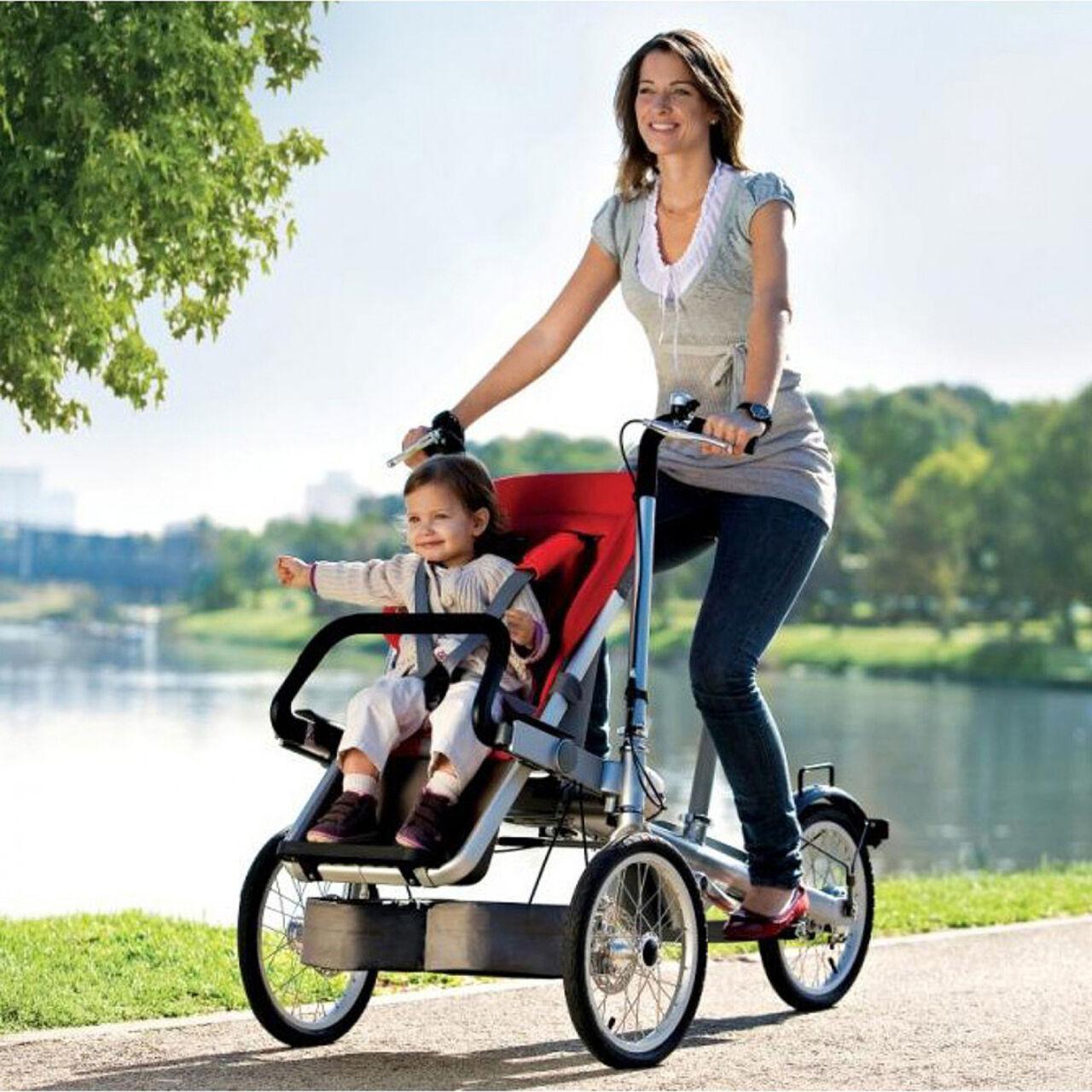 Велосипеды для мамочек с детьми