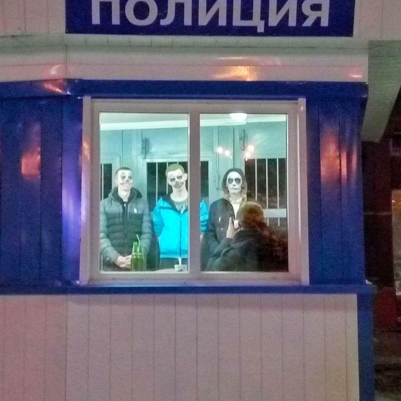 ВКемерове милиция задержала троих «зомби»
