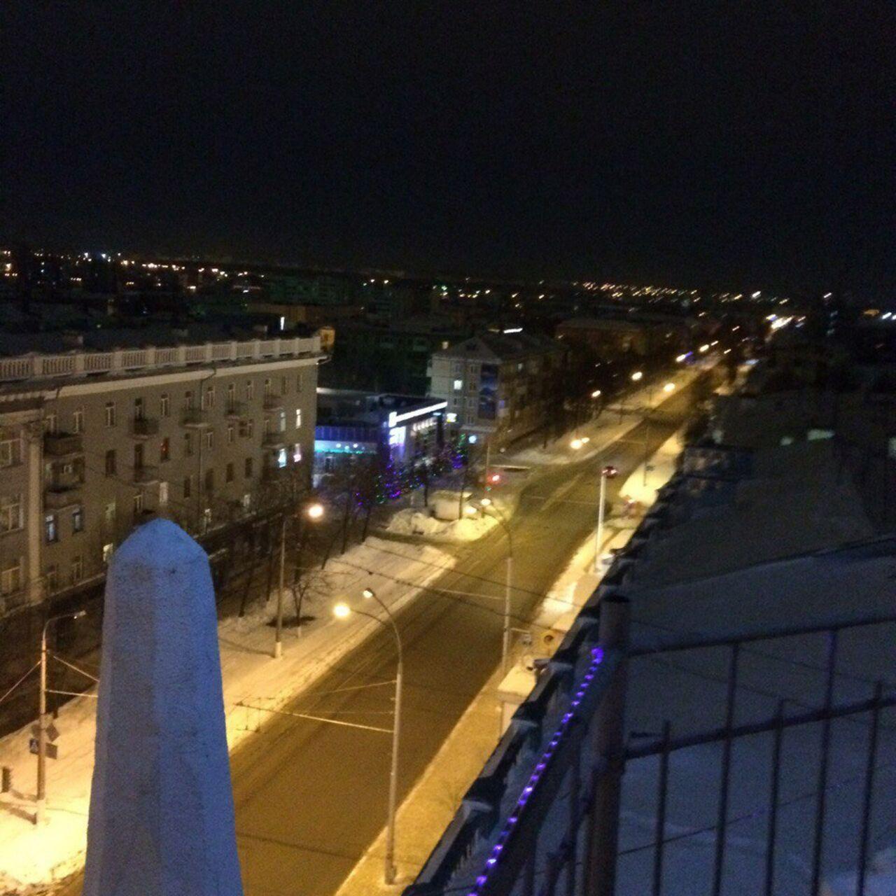 Милиция разыскивает руферов, забравшихся наодно иззданий на основной площади Кемерово