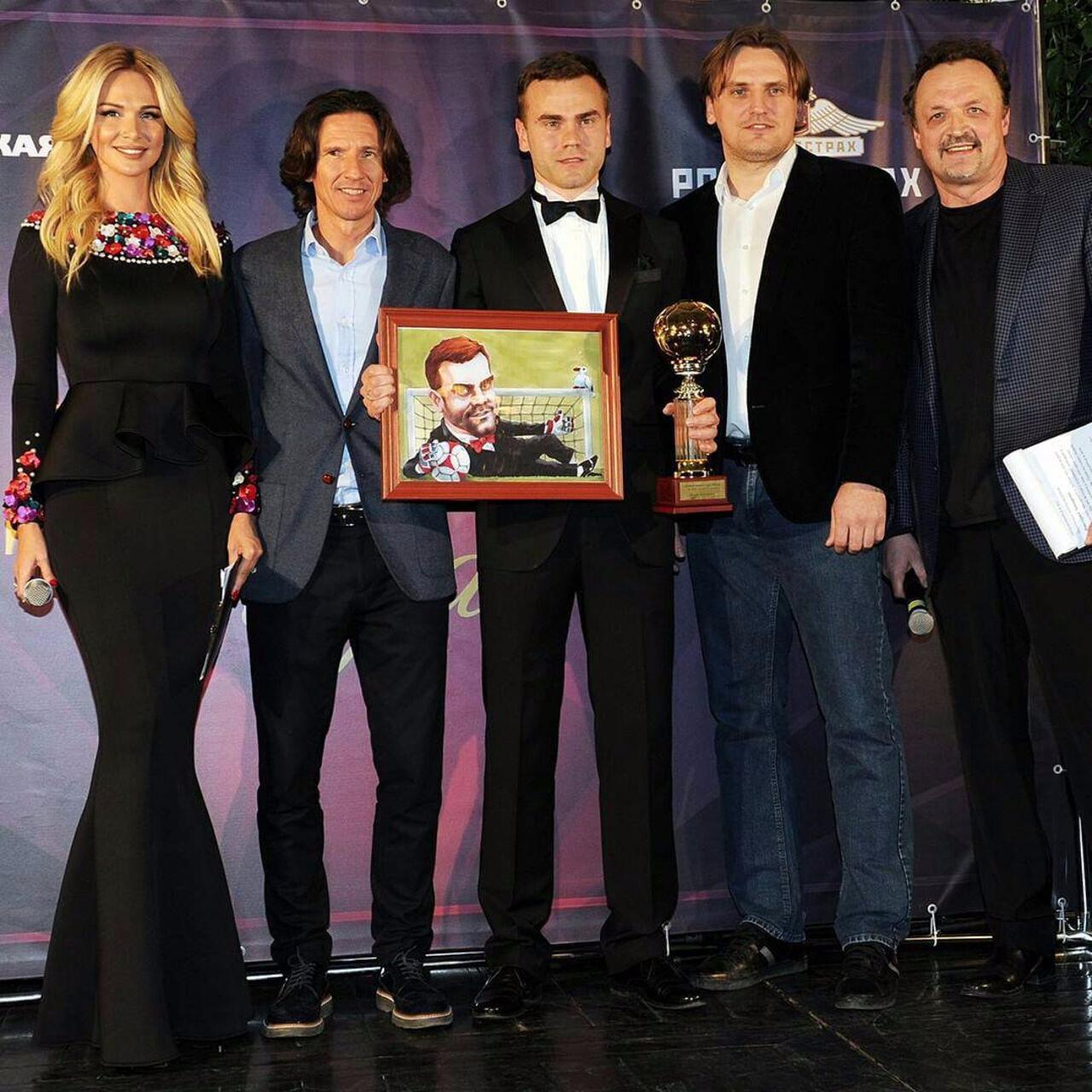 Игорь Акинфеев стал «Джентльменом года» в русском футболе