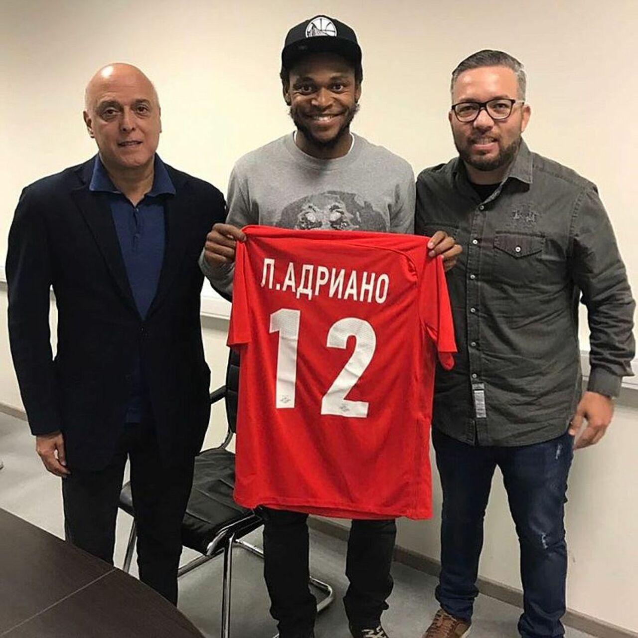 «Спартак» подпишет договор сЛуисом Адриано 16января