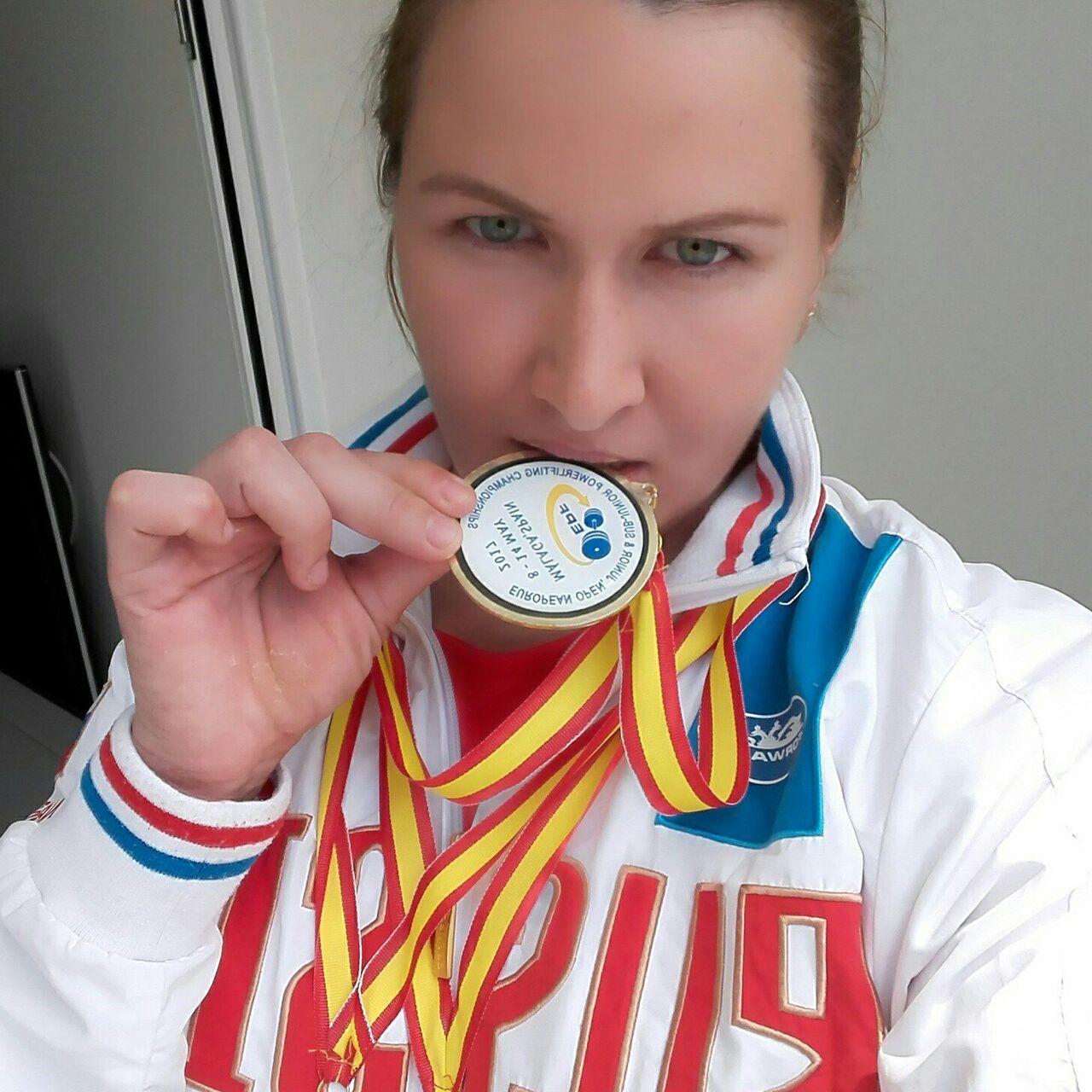 Кемеровчанка взяла «золото» начемпионате Европы попауэрлифтингу