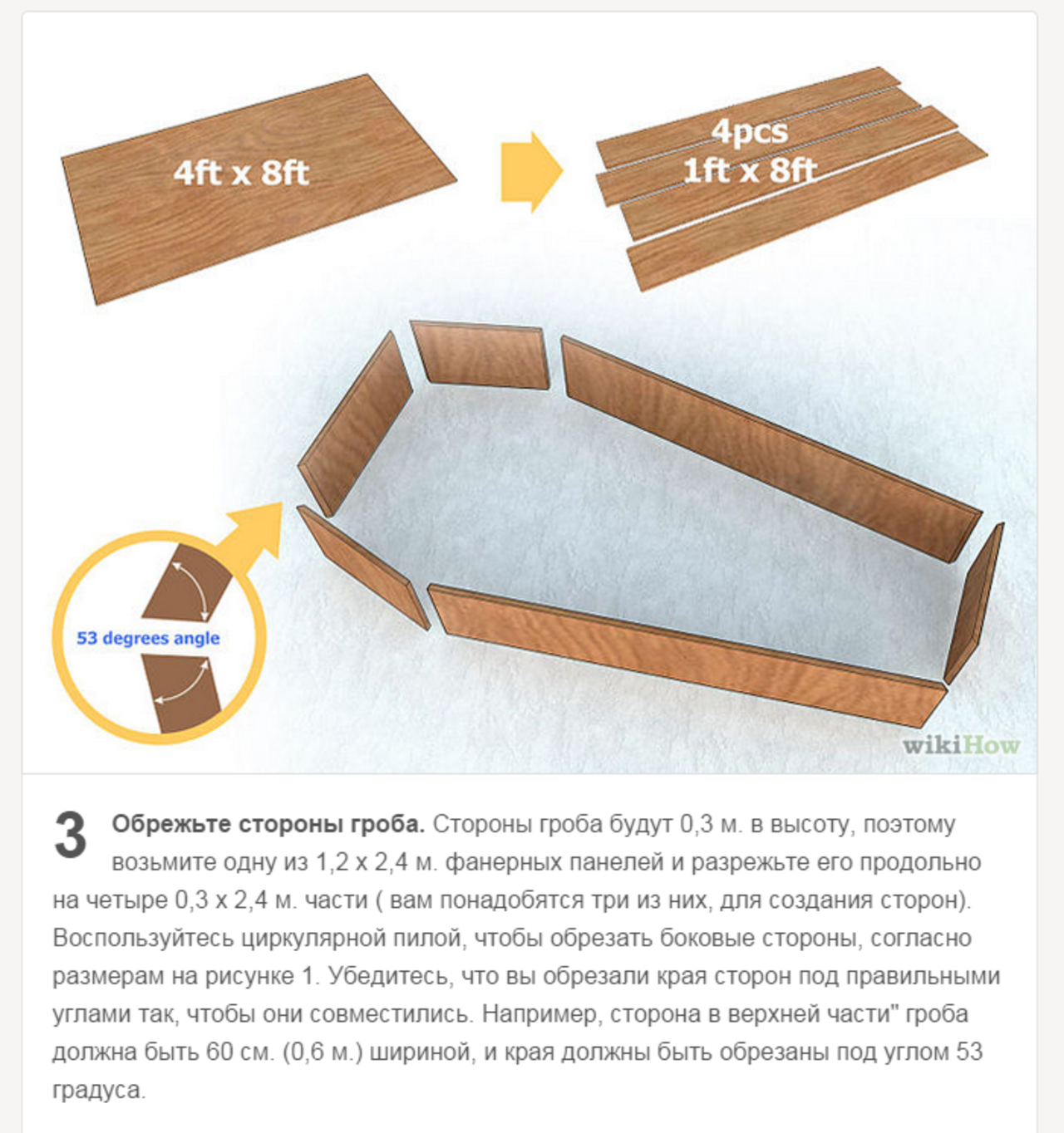 Как сделать саркофаг своими руками