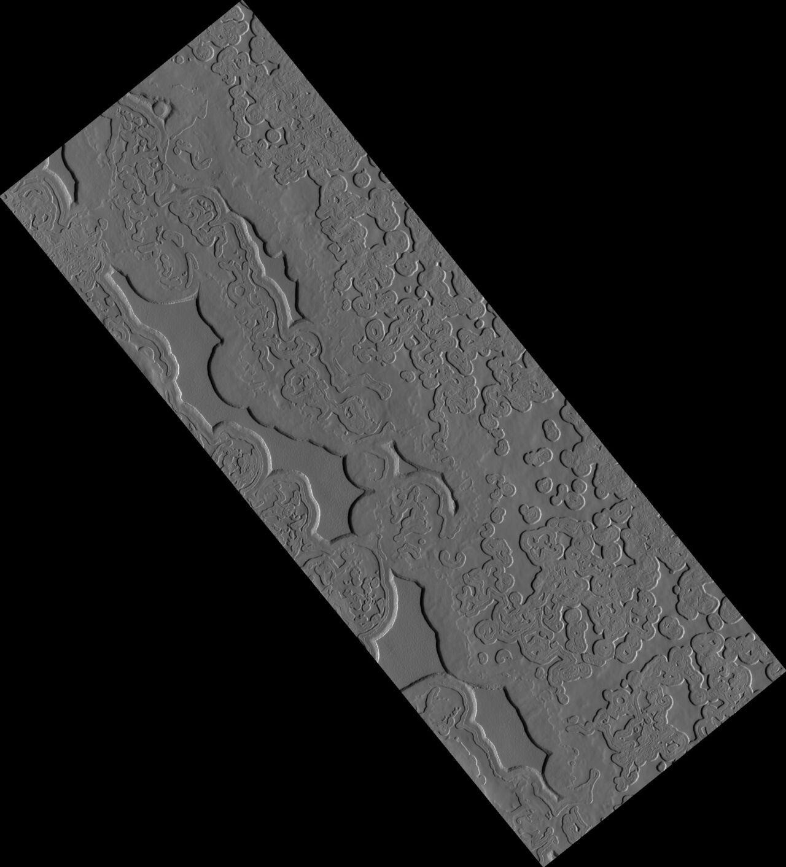 НАСА показало самое холодное место наМарсе