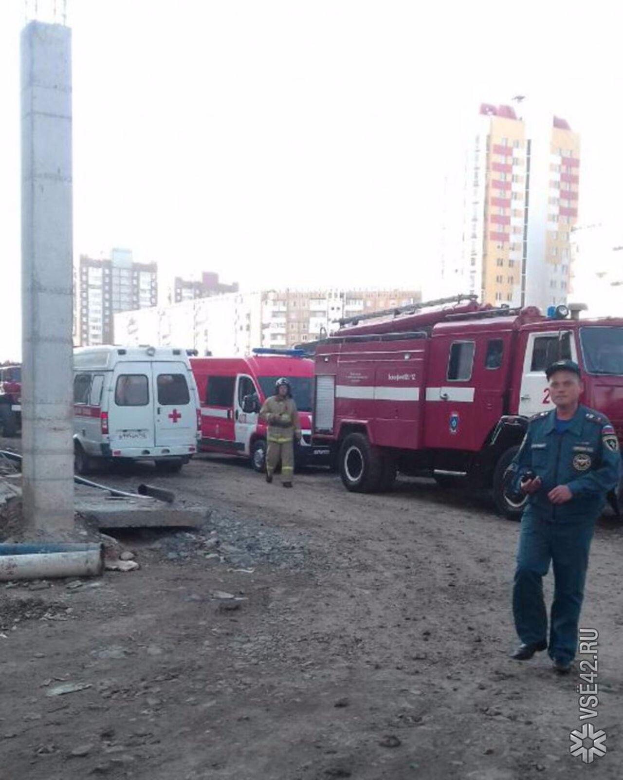 Напожаре вкемеровской новостройке спасли человека