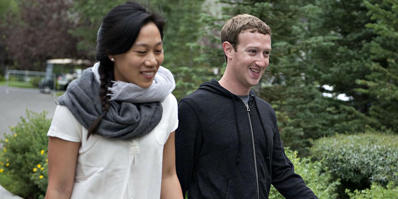 Глава Facebook Марк Цукерберг сообщил о рождении дочери