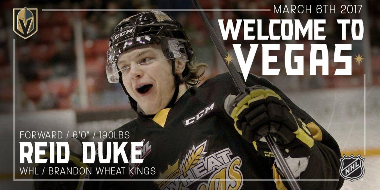 Клуб НХЛ изЛас-Вегаса подписал первого игрока всвоей истории