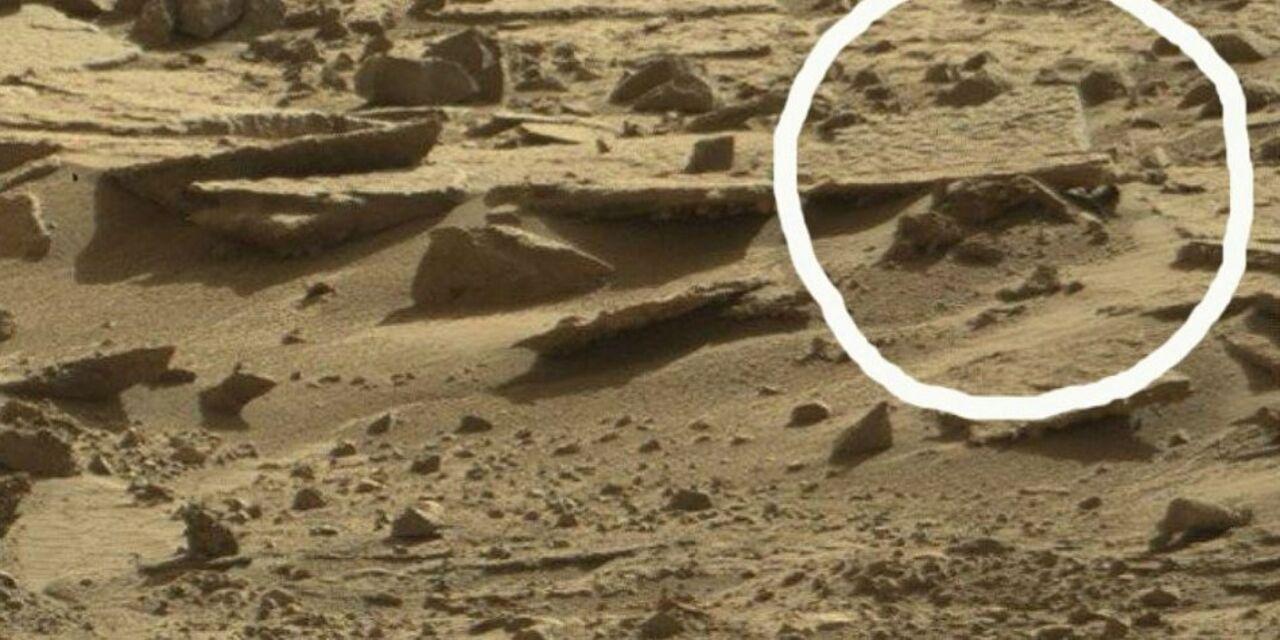 Ученые обнаружили наМарсе труп инопланетянина