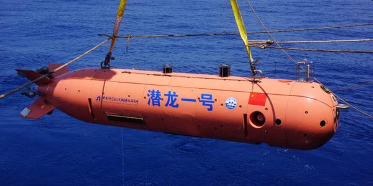Глубоководный китайский планер опустился нарекордную глубину