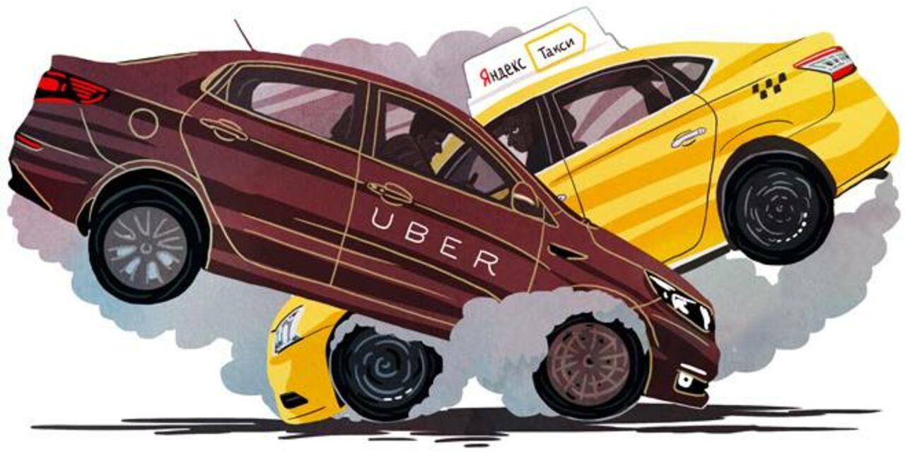 Uber и«Яндекс.Такси» объединяются напостсоветском пространстве
