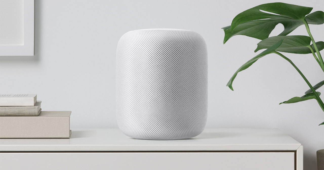 Винтернете опубликовали фото нового устройства Apple HomePod