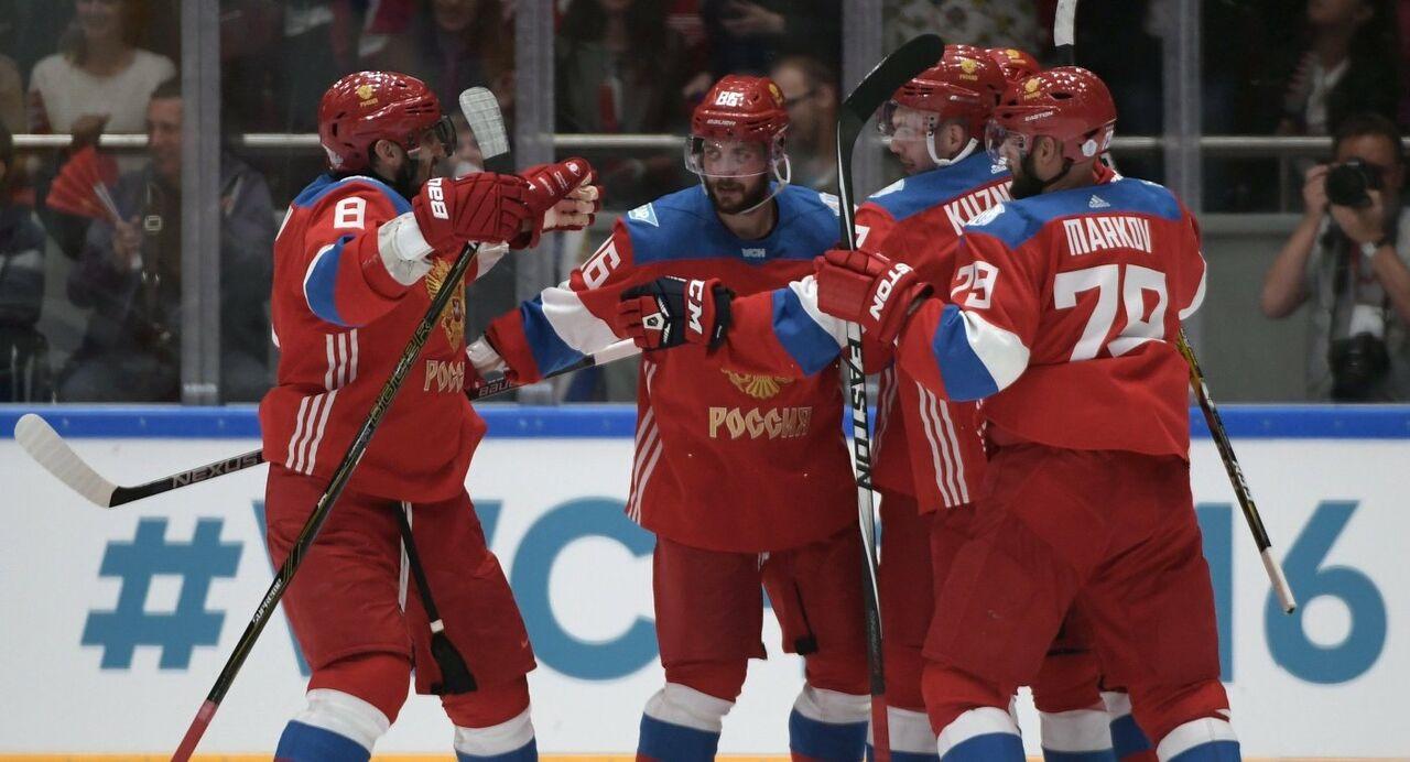 РФ одержала победу над Чехией втоварищеском хоккейном матче