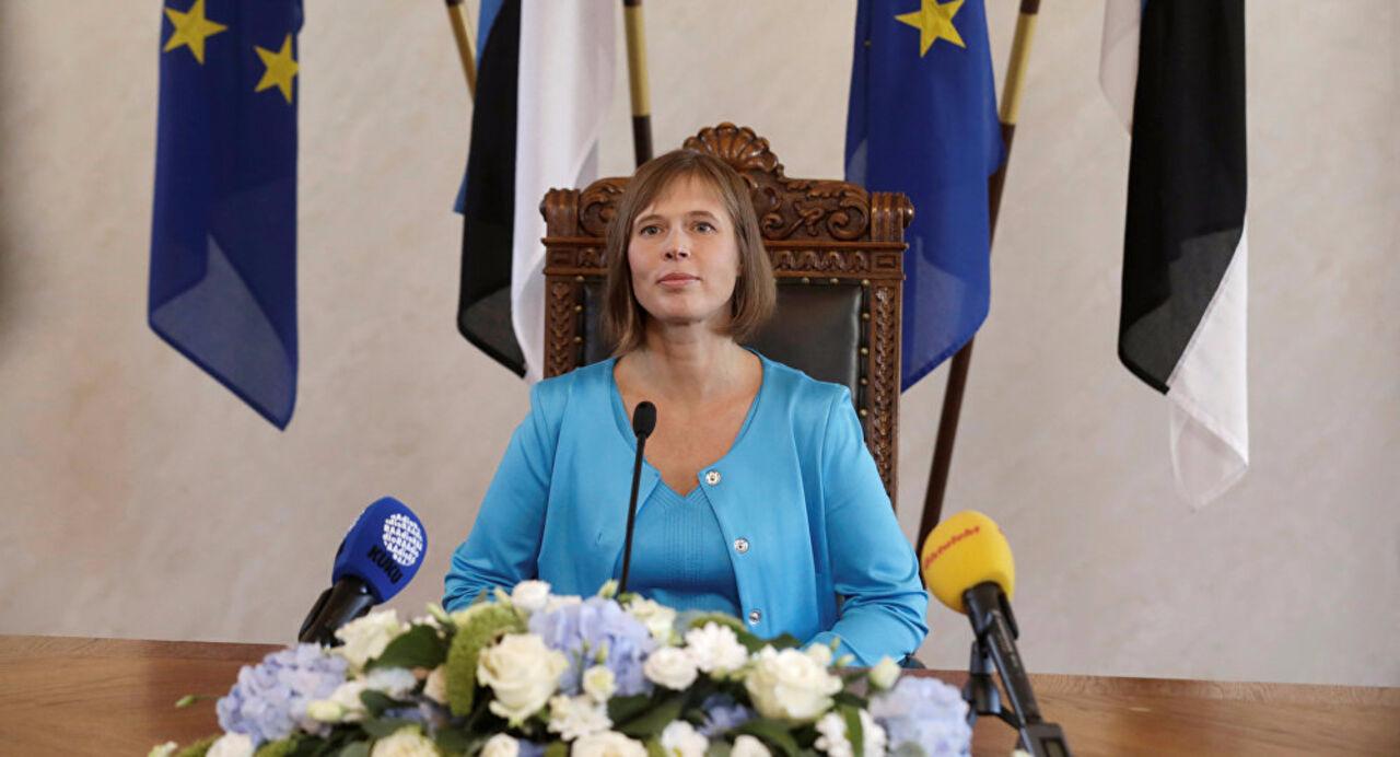 Керсти Кальюлайд вступила вдолжность президента Эстонии