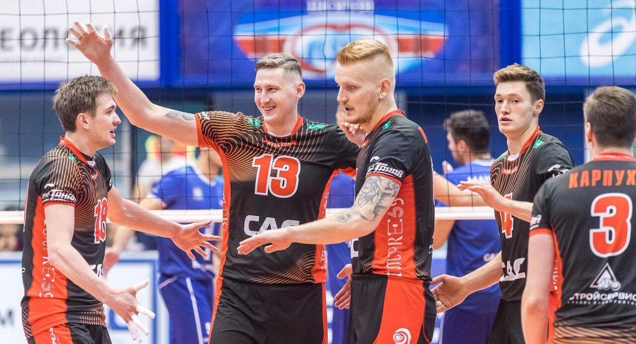 Волейбольный «Кузбасс» потерпел сенсационное поражение вСуперлиге