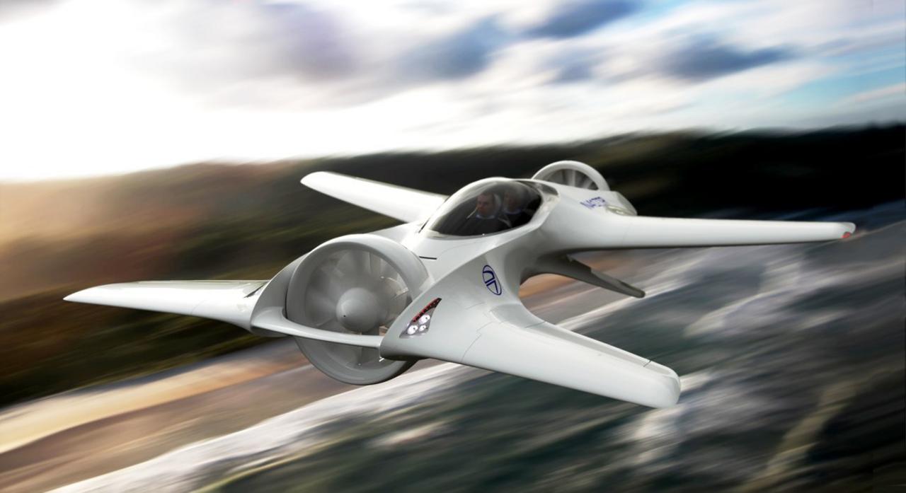 DeLorean разработала летающий суперкар изфильма «Назад вбудущее»