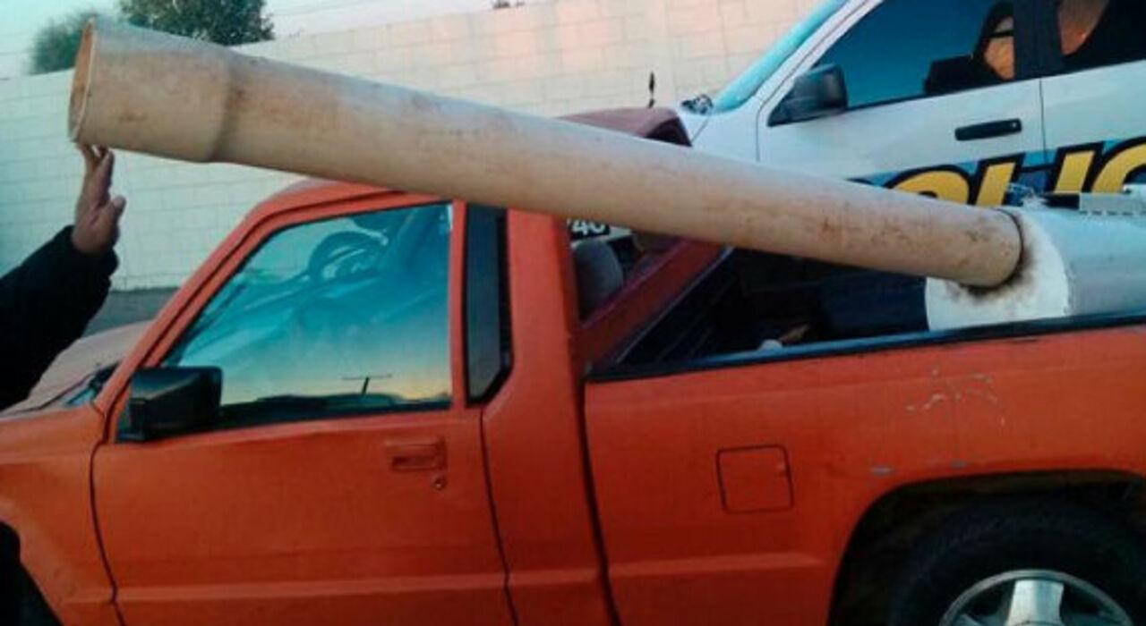 ВМексике конфисковали пушку для стрельбы марихуаной вСША