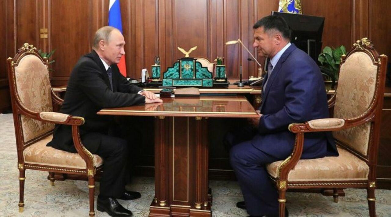 Трутнев официально представил и.о. руководителя Приморья воВладивостоке