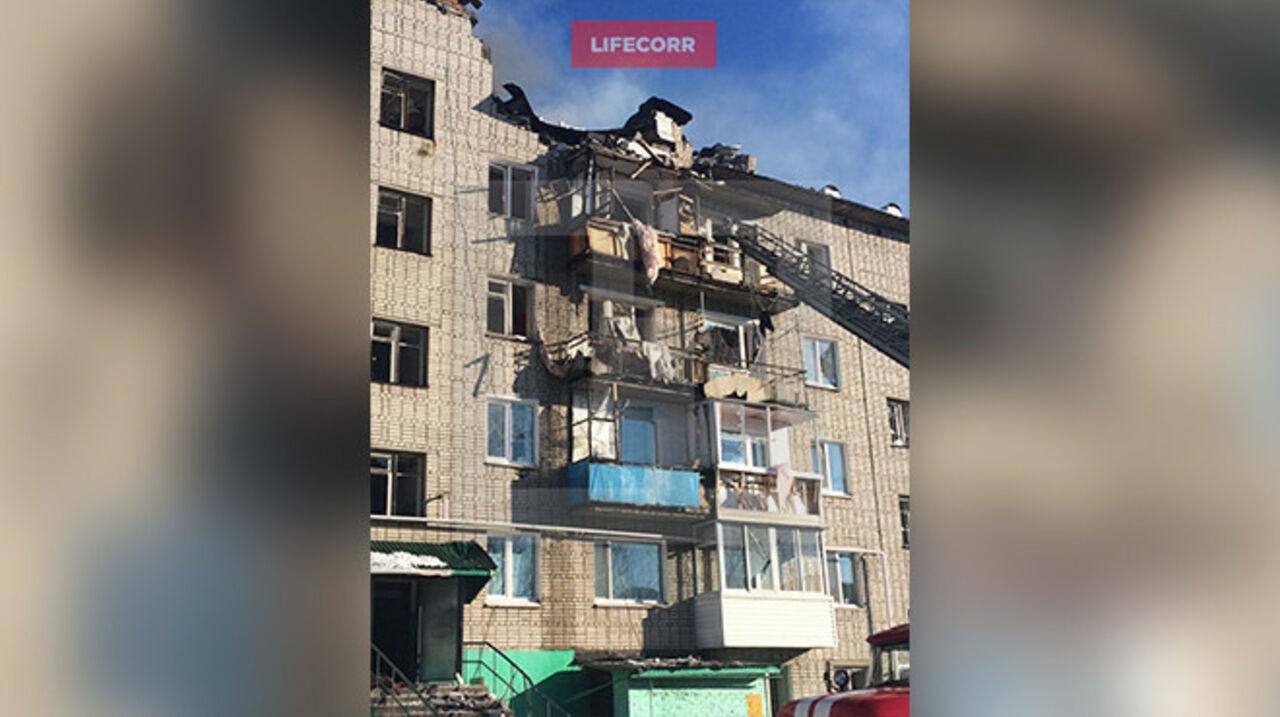 ВСовгавани ликвидирован пожар после взрыва газа