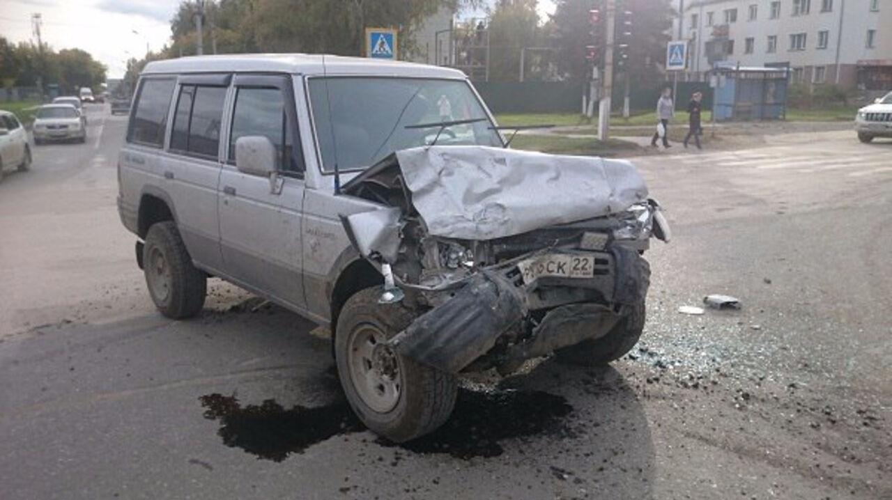 Пострадали двое человек— Авария вБердске