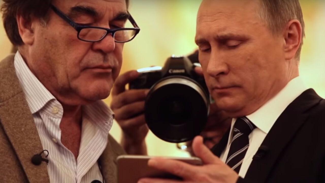 1-ый канал начнёт показ четырёхсерийного фильма «Интервью сПутиным»