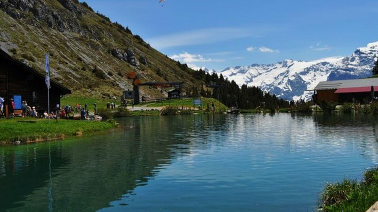ВШвейцарии 14 человек пропали без вести после оползня