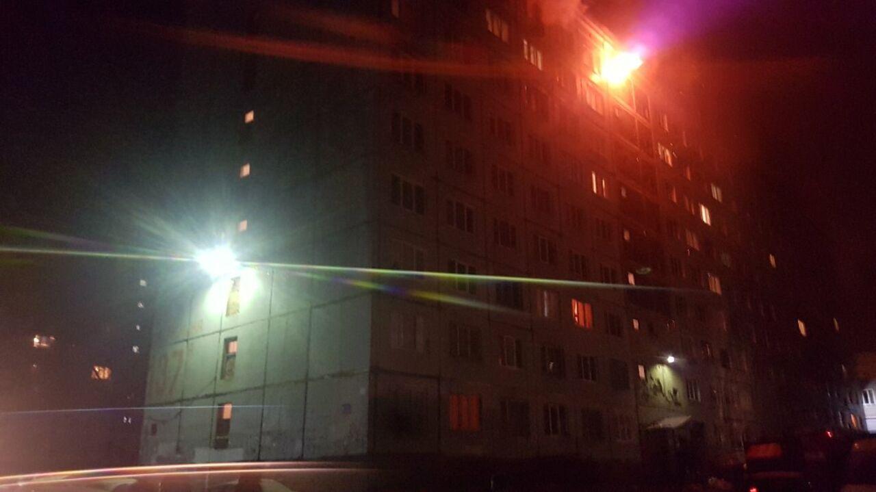 Вкемеровском общежитии произошёл пожар