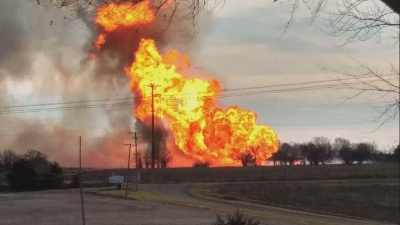 Два человека стали жертвами взрыва газопровода вштате Иллинойс