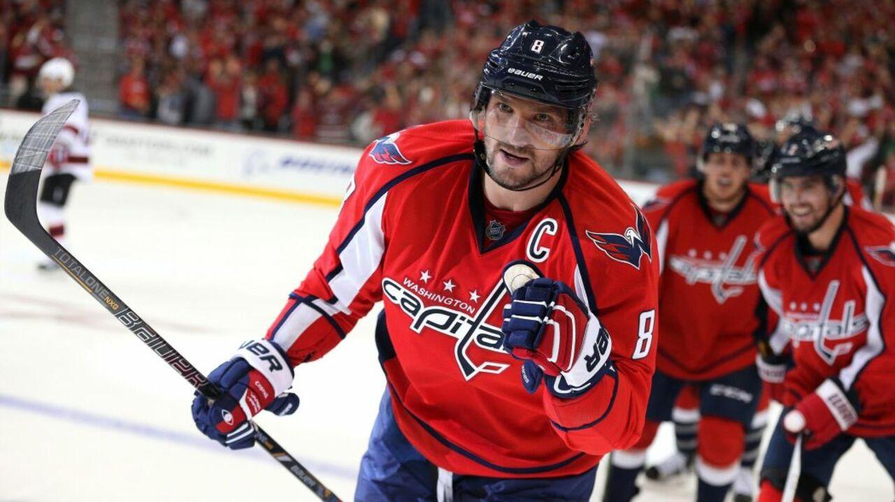 Овечкина включили всписок 25 наилучших  хоккеистов завсю историю НХЛ