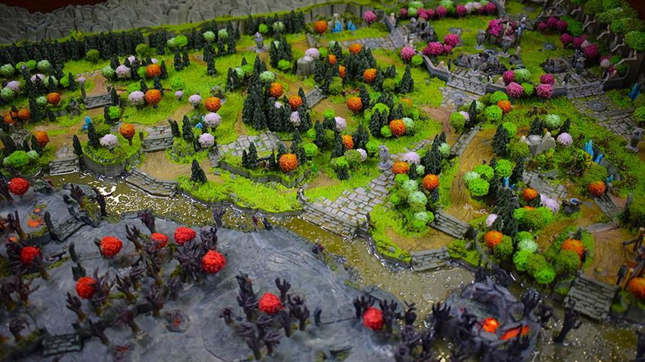 Поклонники Dota 2 создали на3D-принтере объемную карту игры