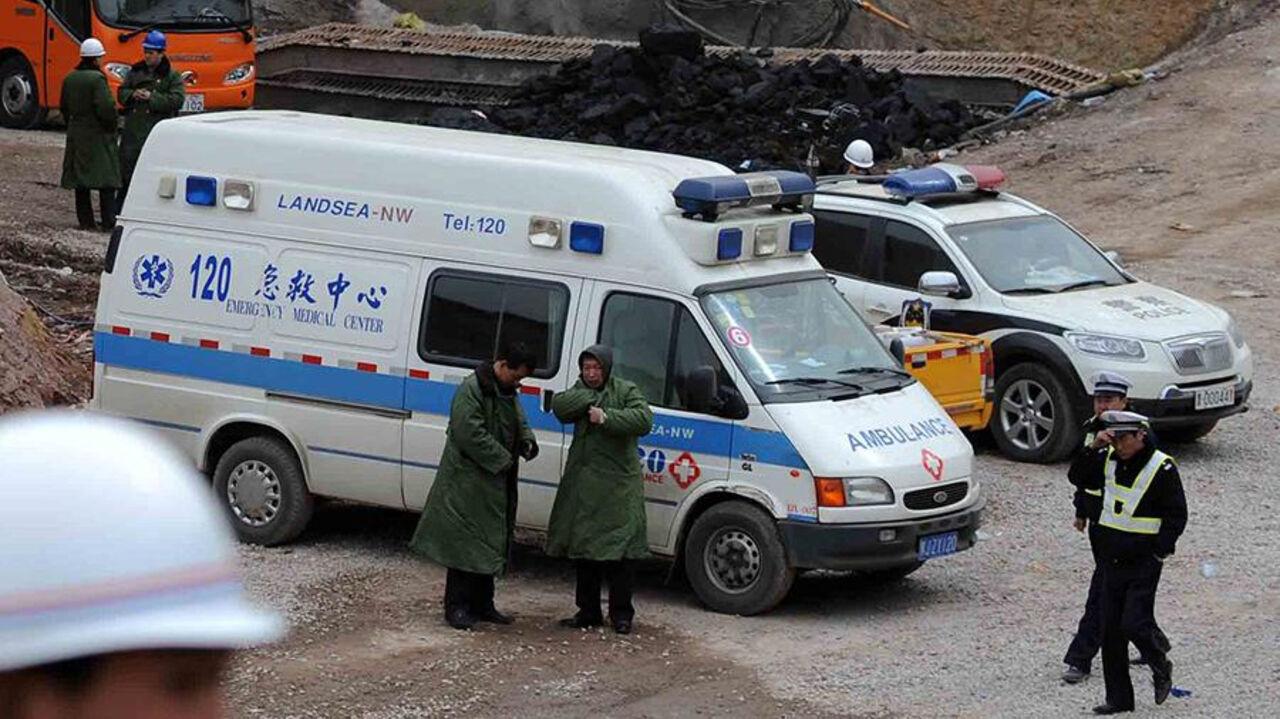 В «Поднебесной»  после взрыва грузового автомобиля  пропали семь человек