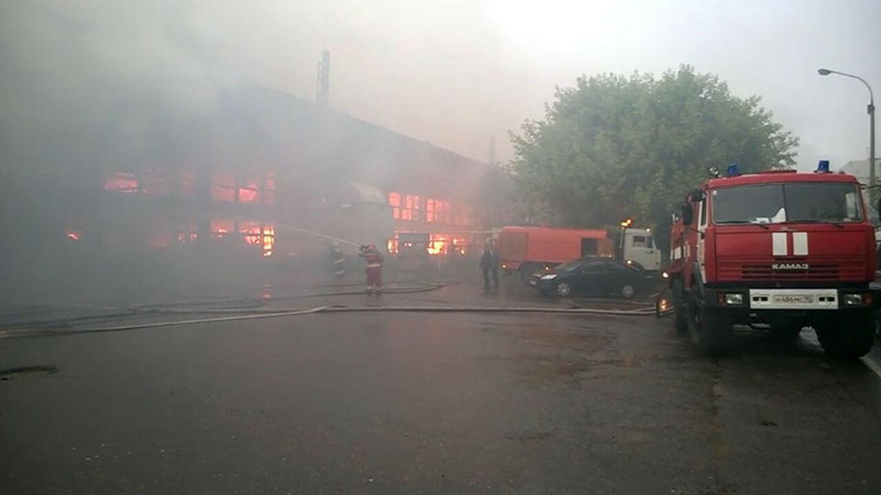 Следователи начали проверку после пожара нафабрике воФрязине