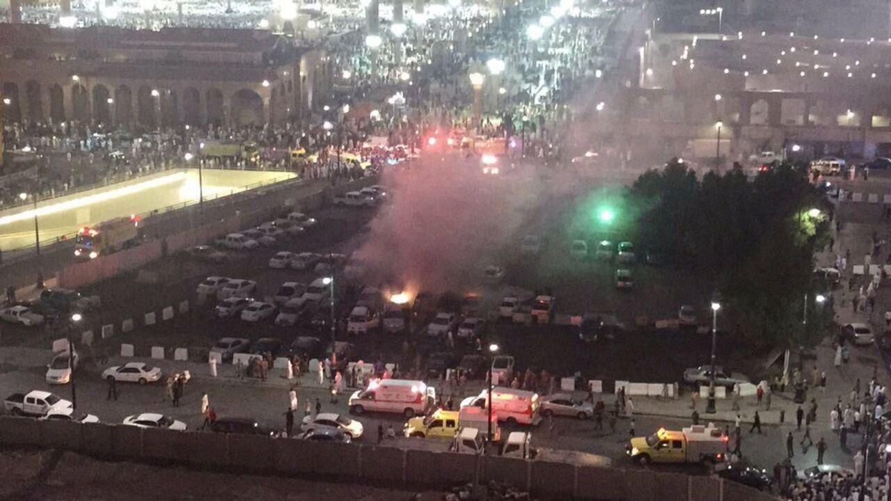Около мечети Пророка вМедине произошел взрыв