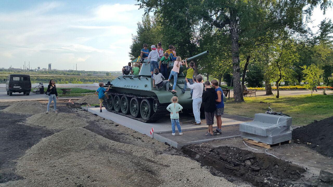 ВКировском районе Кемерова откроют монумент танку Т-34