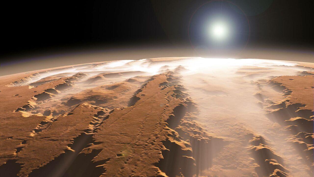 Колонизаторы Марса поселятся у озера