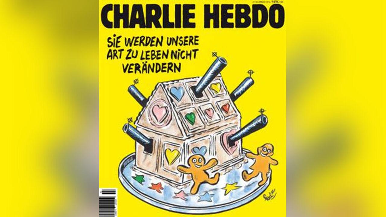 Charlie Hebdo поглумился над терактом вБерлине