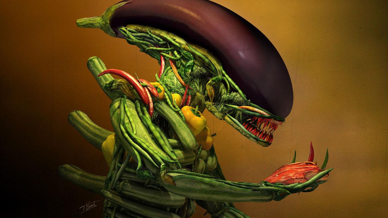 Учёные из Оксфорда доказали что вегетарианская пища может погубить людей