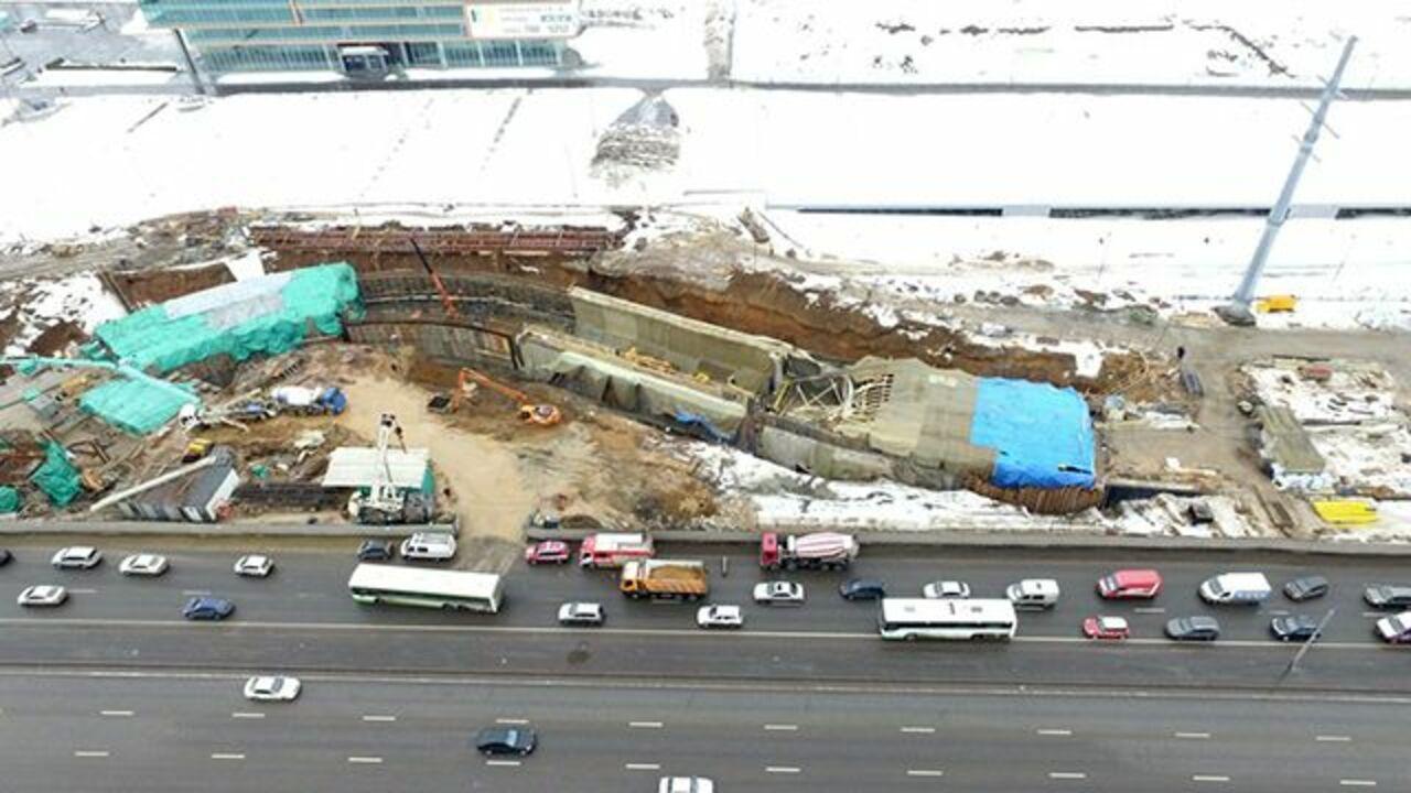 Тело 2-го погибшего найдено под завалом тоннеля наКалужском шоссе
