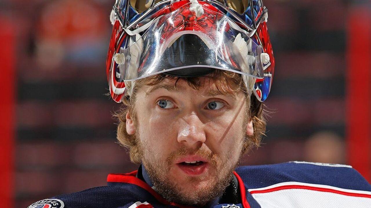Вратарь клуба НХЛ «Коламбус» Бобровский номинирован на«Билл Мастертон Трофи»