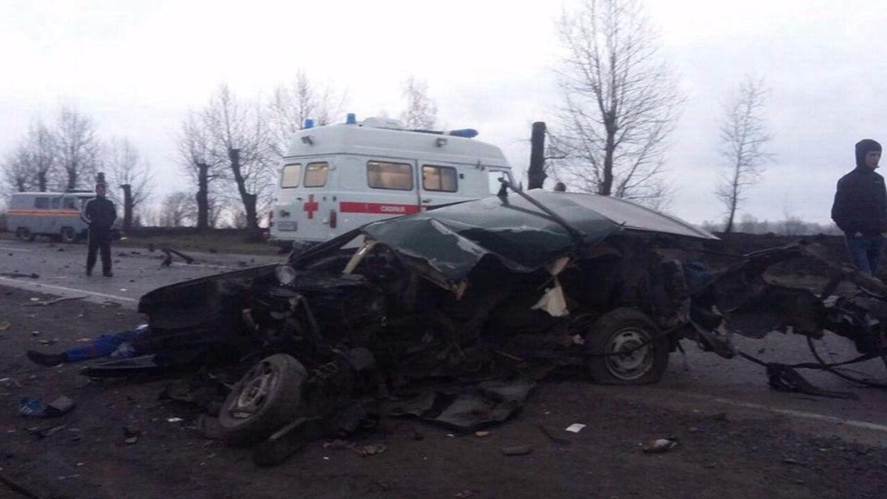 Всубботу вКузбассе умер пассажир вазовской «девятки»